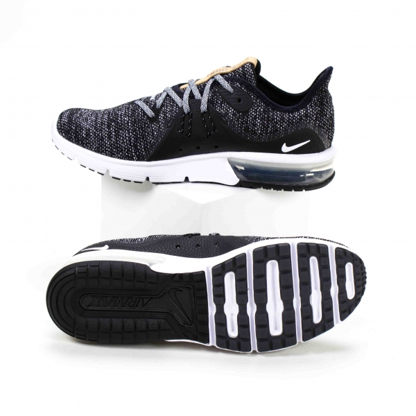 Tênis Nike Air Max Sequent 3 - Grafite/preto