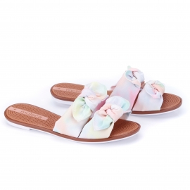 Tamanco Feminino Moleca Tie Day - Multi color
