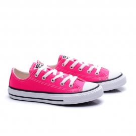 Tênis All Star Converse Infantil - Rosa choque