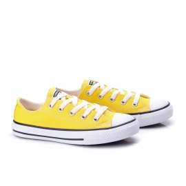 Tênis All Star Converse Seasonal Infantil - Amarelo