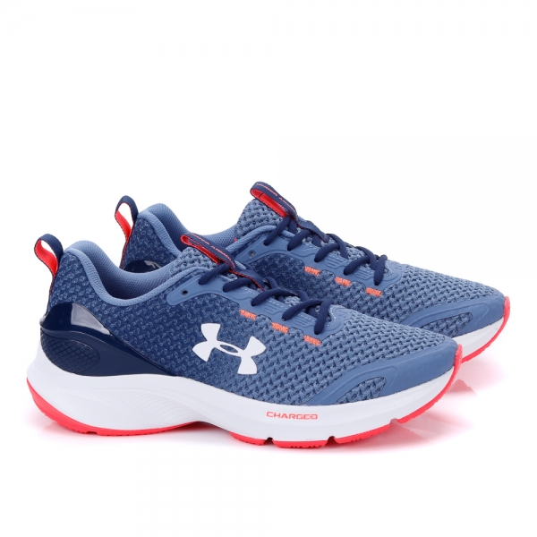 Tênis Under Armour Masculino Charged Prompt - Azul/branco