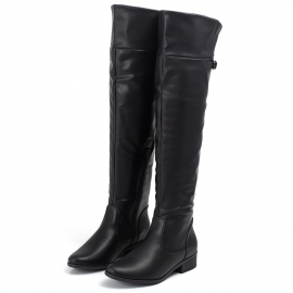 Bota Piccadilly Over Feminina - Preto