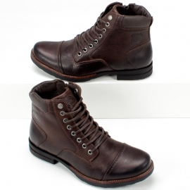 Bota Freeway Soldier Feminino - Chocolate