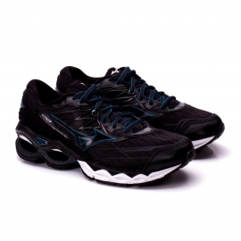 Tênis Mizuno Wave Creation 20 Masculino - Preto/azul