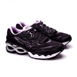 Tênis Mizuno Wave Creation 20 Feminino - Preto/lilas