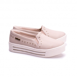 Slip On Triple Kolosh Feminino - Fibra