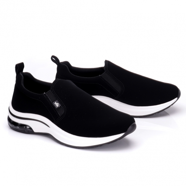 Tênis Slip On Via Marte Feminino - Preto